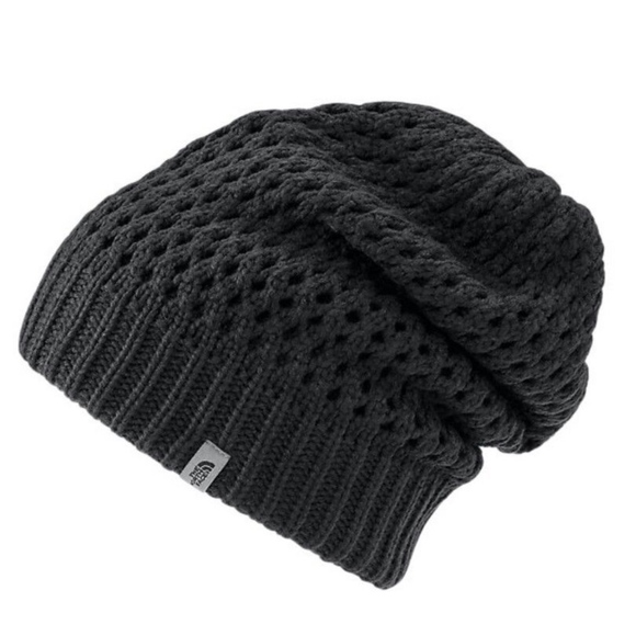 The North Face Black Slouch Shinsky Beanie Hat 9d5847be62f